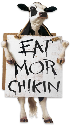 cow eat more chicken